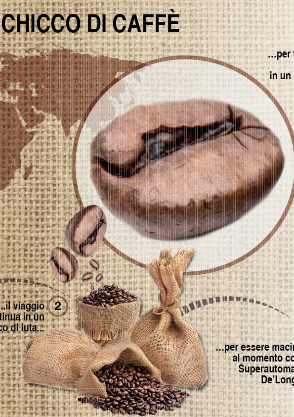 infografica sul caffè