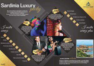 Presentazioni Powerpoint professionale e dinamica per Sardinia Luxury 2